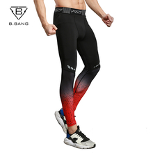 B.BANG Compression Pants Men Fitness Bodybuilding Gyms Pants For Training Brand Clothing Autumn Sweat Trousers Britches