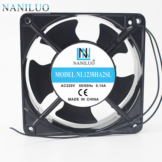 Naniluo 12038 Fan Ac 220v 12cm Cabinet Double Ball Kitchen Cooling 120