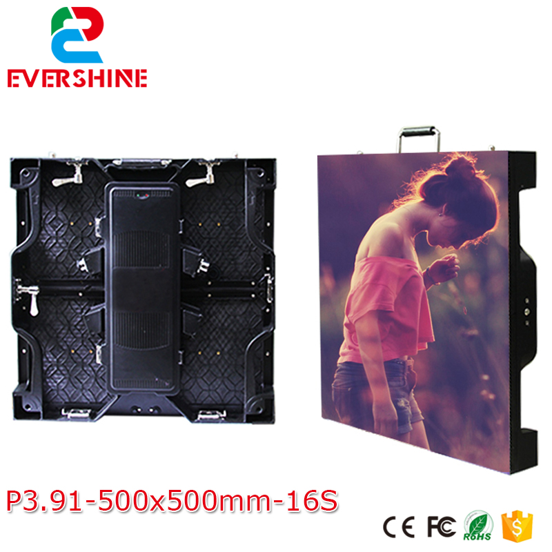 Die-casting aluminum cabinet rgb full color rental led display screen P3.91 hd led panel usage for outdoor xixun a31 3g rgb led display controller card integrate gprs modem usage in global area for p10 p16