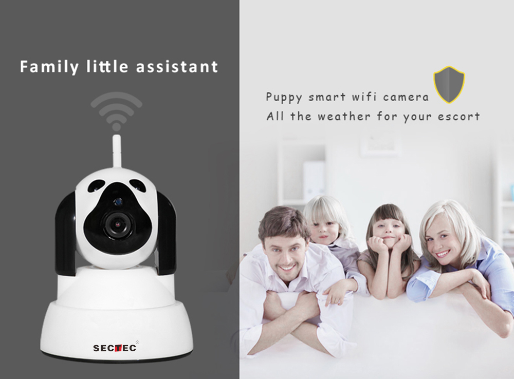 HD WiFi IP Camera Smart Dog 720P Home Security Wireless Caemra10