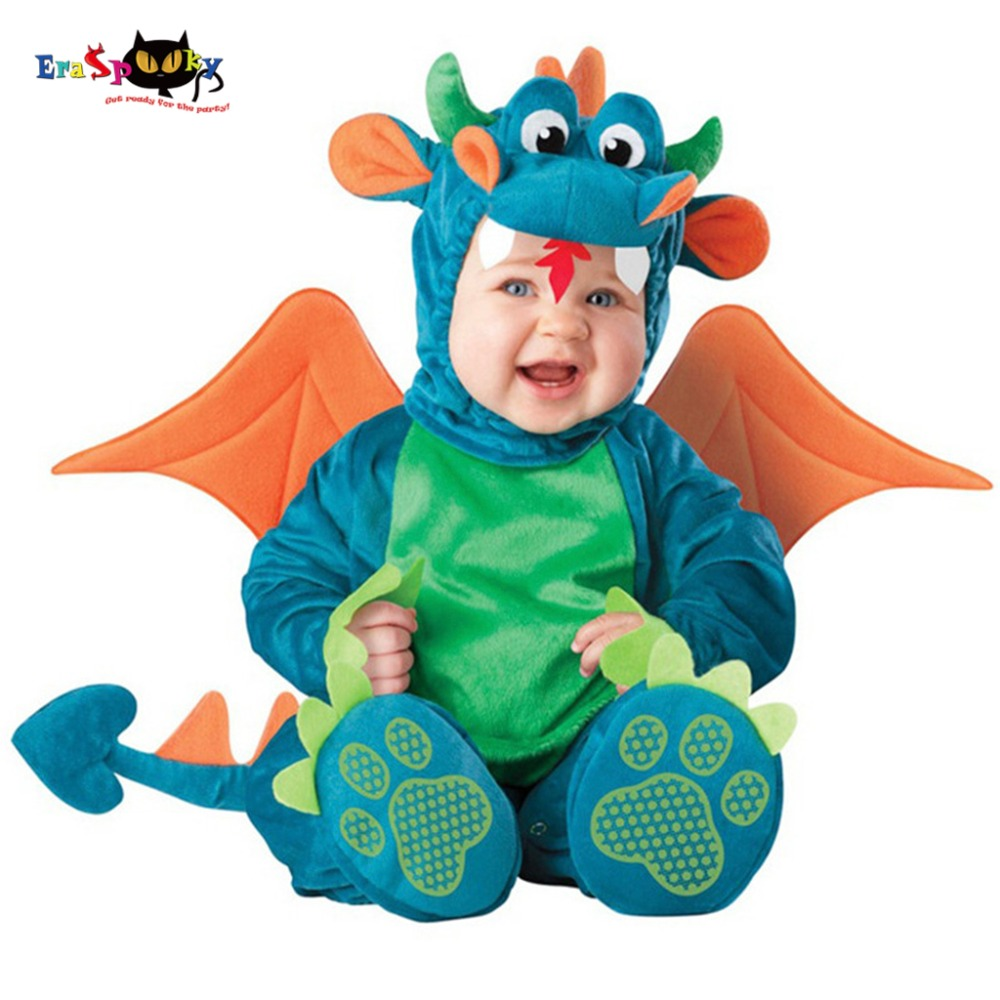 Lovely Animal Halloween Outfit for Baby grow Infant Boys Girls Baby Fancy Dress Cosplay Costume Toddler Lion/Dinosaur/Penguin baby halloween outfit dinosaur romper dinky dragon photo props halloween costume toddler hoodies clothing for babies