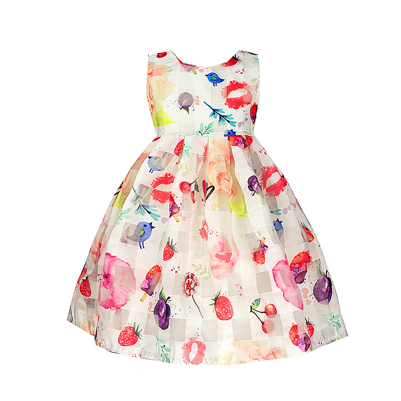 BRWCF New Fashion Girls Dresses Dot Cotton Party Birthday Casual Baby Children Clothes Princess Dress Elsa Dress Christmas Dress cospot baby girls christmas tutu dress girl s short sleeve merry christmas dress newborn cotton dot casual dresses 2018 new 26e