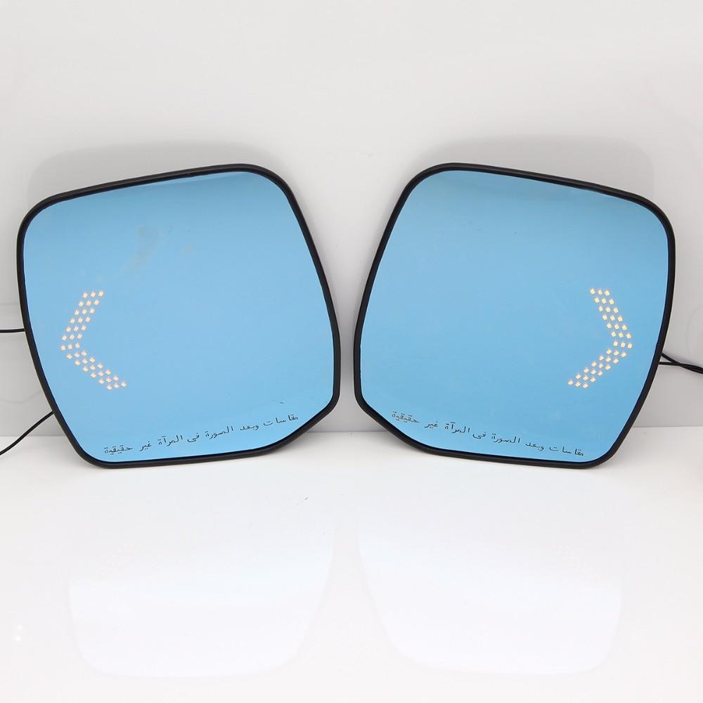 Синий зеркало боковые авто зеркала заднего вида светодиодный сигнал поворота Лампа для Ниссан Патрол /ЭЛГРАНД для E52/ elgrand Райдер /квест (Ближний Восток Moddel