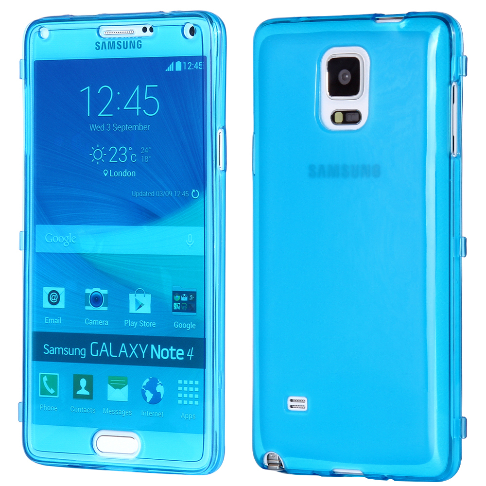 Aliexpress : Buy Super Deal Ultra Thin Crystal Clear Soft Tpu Gel Phone  Case For Samsung Galaxy Note 4 N9100 Iv Full Protective Flip Cover Bag From