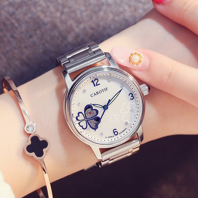 New Arrived Sapphire Auto Mechanical Women Watch montre femme Top Luxury Butterfly Face Watch Women Elegant Ladies Watch RelojNew Arrived Sapphire Auto Mechanical Women Watch montre femme Top Luxury Butterfly Face Watch Women Elegant Ladies Watch Reloj