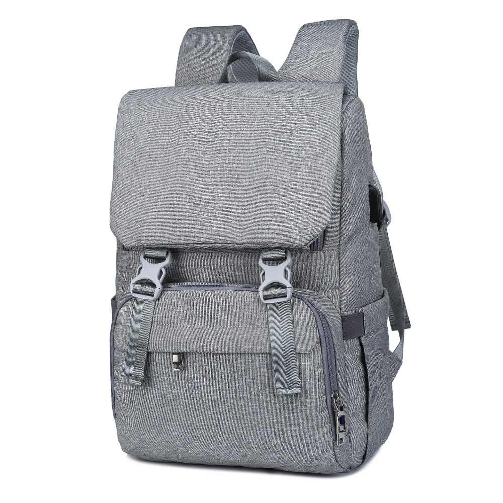 120bf0744e ... 2019 Fashion Mummy Maternity Diaper Bag Large Nursing Travel Backpack  Stroller Baby Bag multi function Baby ...