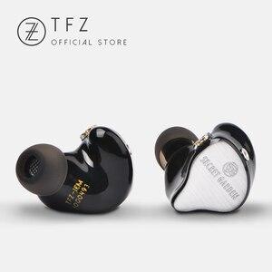 Image 2 - The Fragant Zither TFZ SECRET GARDEN In Ear Earphone HIFI Monitor IEM Sports Earphones 2Pin Headset Heavy Bass Stage DJ Earbud