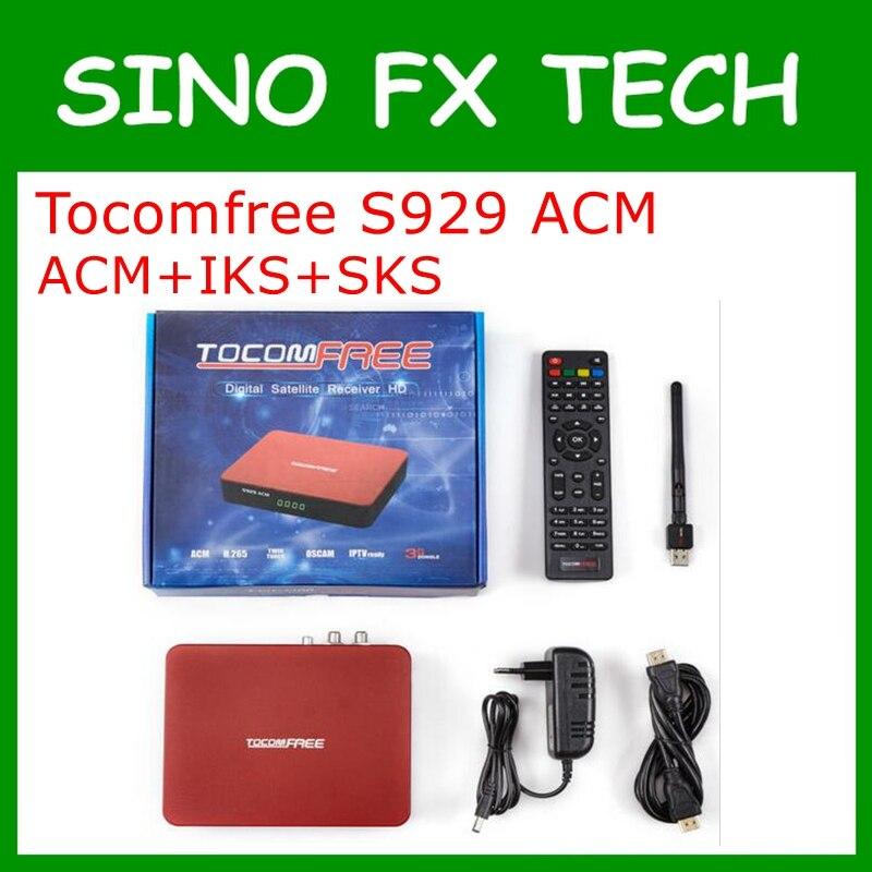 ФОТО TOCOMFREE S929 ACM Satellite Receiver Adaptive Coding&Modulation IKS SKS IPTV ACM H.265 For South America