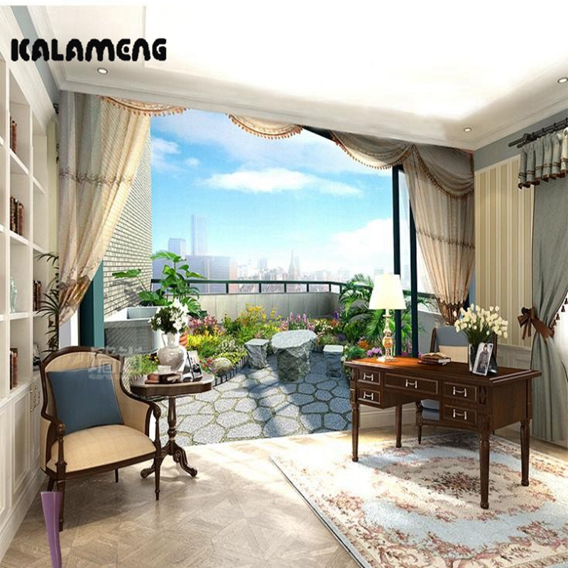 KALAMENG Custom 3D Wallpaper Design Balcony Photo Kitchen Bedroom Living Room Wall Murals Papel De Parede Para Quarto