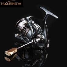 TSURINOYA JAGUAR 2000/3000  9+1 ball bearing spinning reel 5:2:1 stainless steel Fishing Reel Double Spool Fish Tackle 2017 HOT