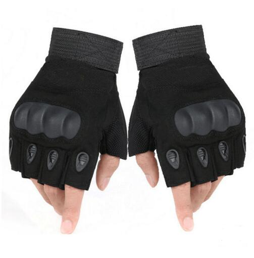 Military Tactical Gloves Antiskid Outdoor Cover Finger Mittens Winter Thermal Men Fighting Leather Black Male Bicycle Gloves