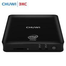 CHUWI HiBox Mini PC TV Box Quad Core Intel x5-Z8350 Android 5.1 + fenêtre 10 4 GB RAM 64 GB ROM 2.4G/5G WiFi BT 4.0 HDMI WIFI