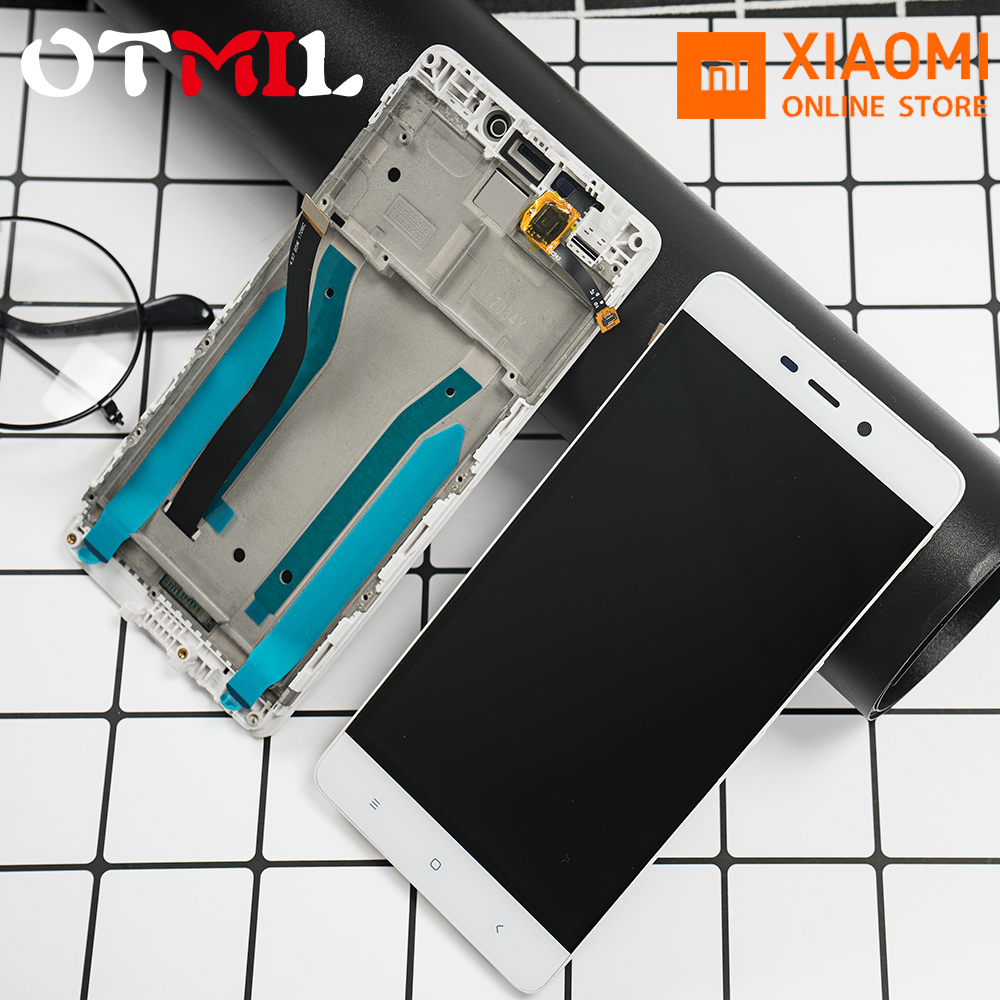 Original 5.0'' LCD For <font><b>XIAOMI</b></font> <font><b>Redmi</b></font> <font><b>4</b></font> <font><b>Pro</b></font> 4Pro Display Touch Screen with Frame For <font><b>XIAOMI</b></font> <font><b>Redmi</b></font> <font><b>4</b></font> <font><b>Prime</b></font> <font><b>3GB</b></font> <font><b>32GB</b></font> LCD Display image