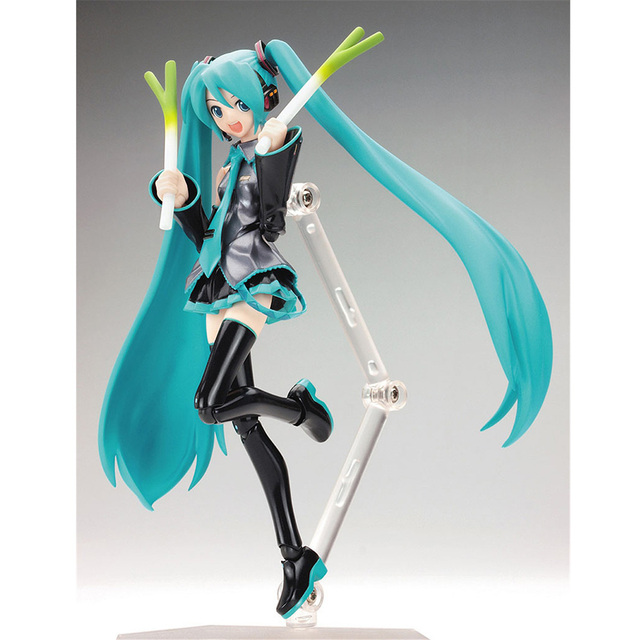 FMRXK 15cm Movable Anime Action Figure Hatsune Miku Model Toy Doll Toy PVC Figma 014 Heroines Collectible 3