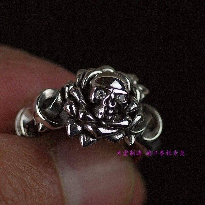 Bague bijoux thaïlande 925 bagues en argent sterling sont adaptés aux hommes et aux femmes.