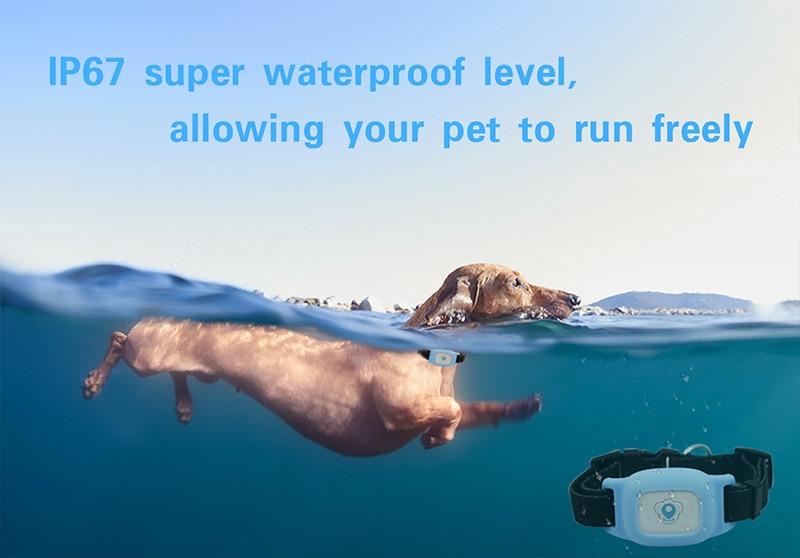 Smart Waterproof Mini Pet GPS