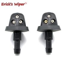 Erick's Wiper 2Pcs/lot Front Windshield Wiper Washer Jet Nozzle For Suzuki Swift MK2 2004-2010