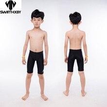 HXBY/плавки для мальчиков; детский тренировочный Купальник; купальный костюм для мальчиков; профессиональные спортивные мужские плавки; большие размеры