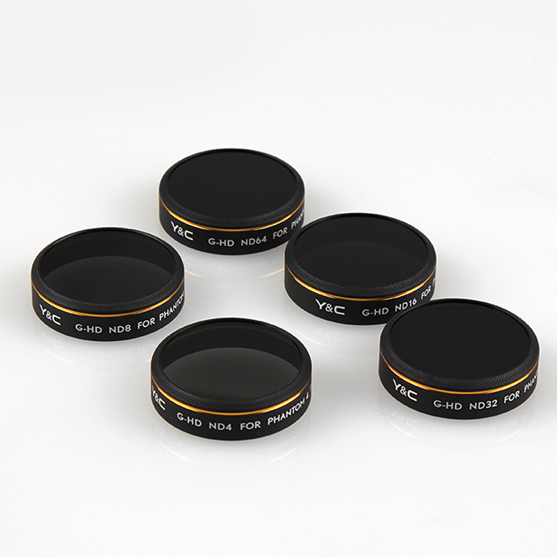 ND4 ND8 ND16 ND32 ND64 Lens Filter for DJI Phantom 4 Pro Advanced P4P 4A Drone Camera Lens Multi Layer Coating Filter