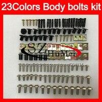 Fairing bolts full screw kit For SUZUKI Katana GSXF600 GSX750F 98 99 00 01 02 1998 1999 2000 01 2002 Windscreen bolt screws Nuts