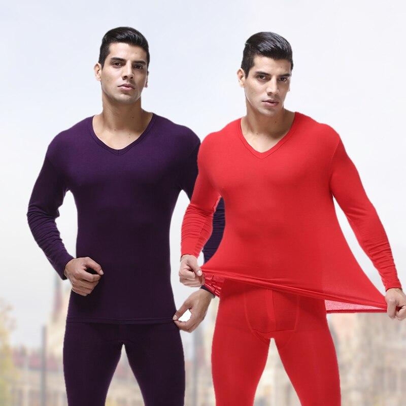 Pajama-Sets Lounge-Set Men Sleepwear Male Cotton Plus-Size Modal For 4XL 5XL 6XL And