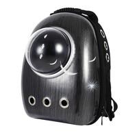 Hot Pet Carrier Travel Bag Transparent Space Window Portable Breathable Double Shoulder Backpack