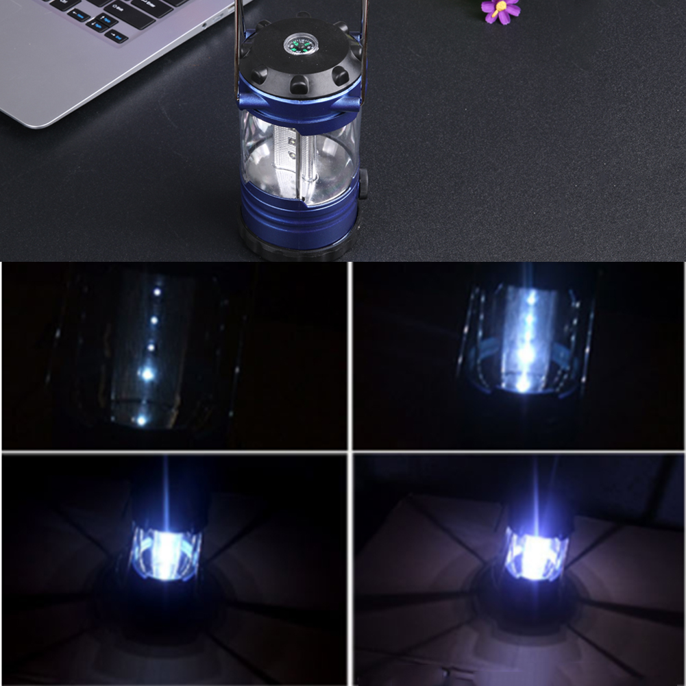 12 LED Lamp Camping Wandelen Bergbeklimmer Licht Voor Outdoor ...