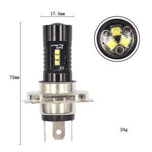 Image 5 - Light Bulbs For Cars 1x LED Fog Lights For Car H4 60W XBD LED Fog Light Bulbs High Power 6000K fog light H4 2525 12led