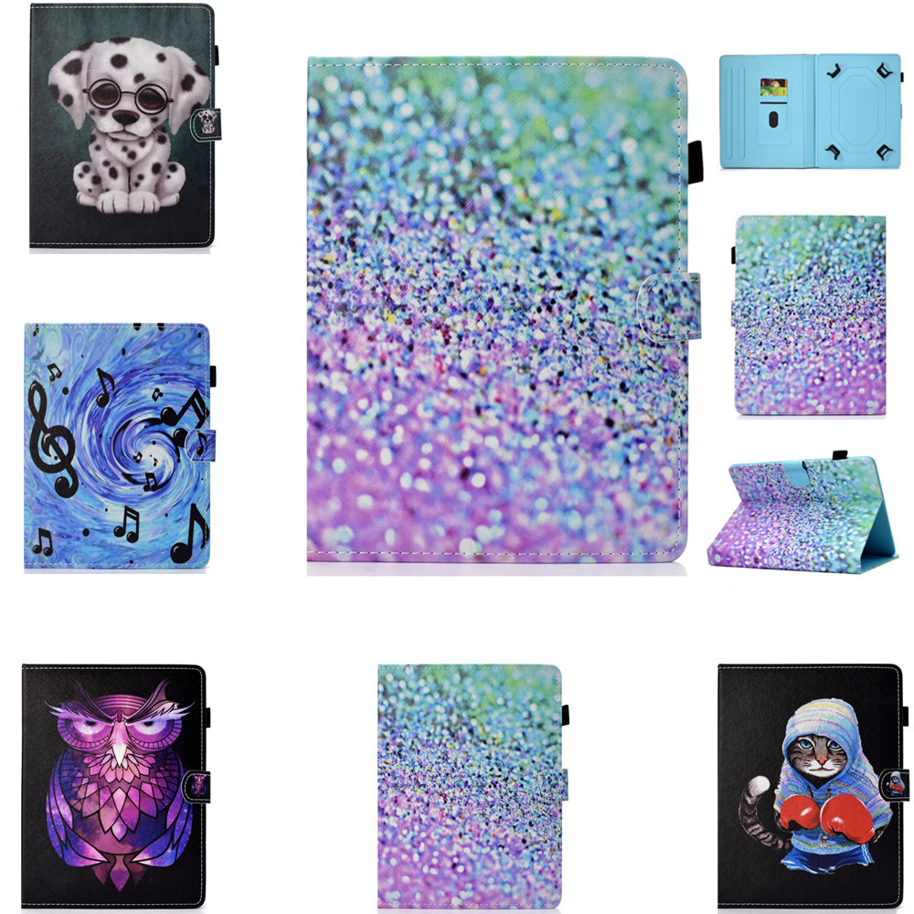 8 Inch Universal Case For Lenovo Tab3 8 Plus & P8 TB-8703 TB-8703N For Samsung Galaxy Note 8.0 N5100 8'' Tablet Cartoon Cover