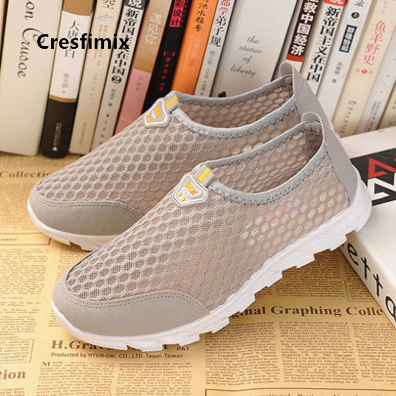 Cresfimix Vrouwen Platte Schoenen Women Light Weight Comfortable Loafers Teenager Blue Spring & Summer Breathable Loafers C5222c