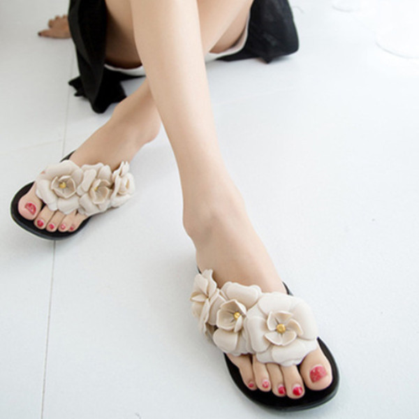 16eabe10b0e2f4 womens summer melissa jelly homme sandale flat shoes ladies thong sandals  flip flops sandalias flower beach slippers hot 2015
