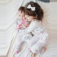 MUQGEW Newborn Baby Girl Romper Baby winter jumpsuit  Long Sleeve Floral Romper baby girl rompers children's clothing for girls Baby Rompers