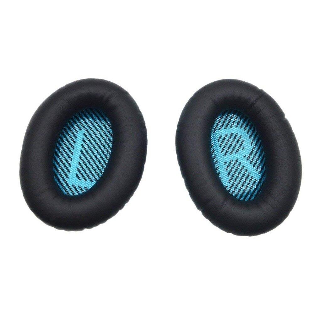 1 paire Remplaçable coussinet d'écouteur pour Bose QuietComfort QC 2 15 25 35 QC2 QC15 QC25 QC35 SoundLink SoundTrue AE II AE2