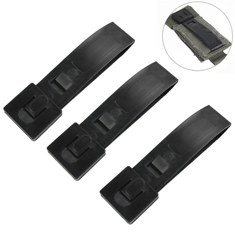 3Pcs FMA Tactical Molle Webbing Connecting Lock Buckle Army EDC Backpack Strap Clip Military Bag Plastic Hook