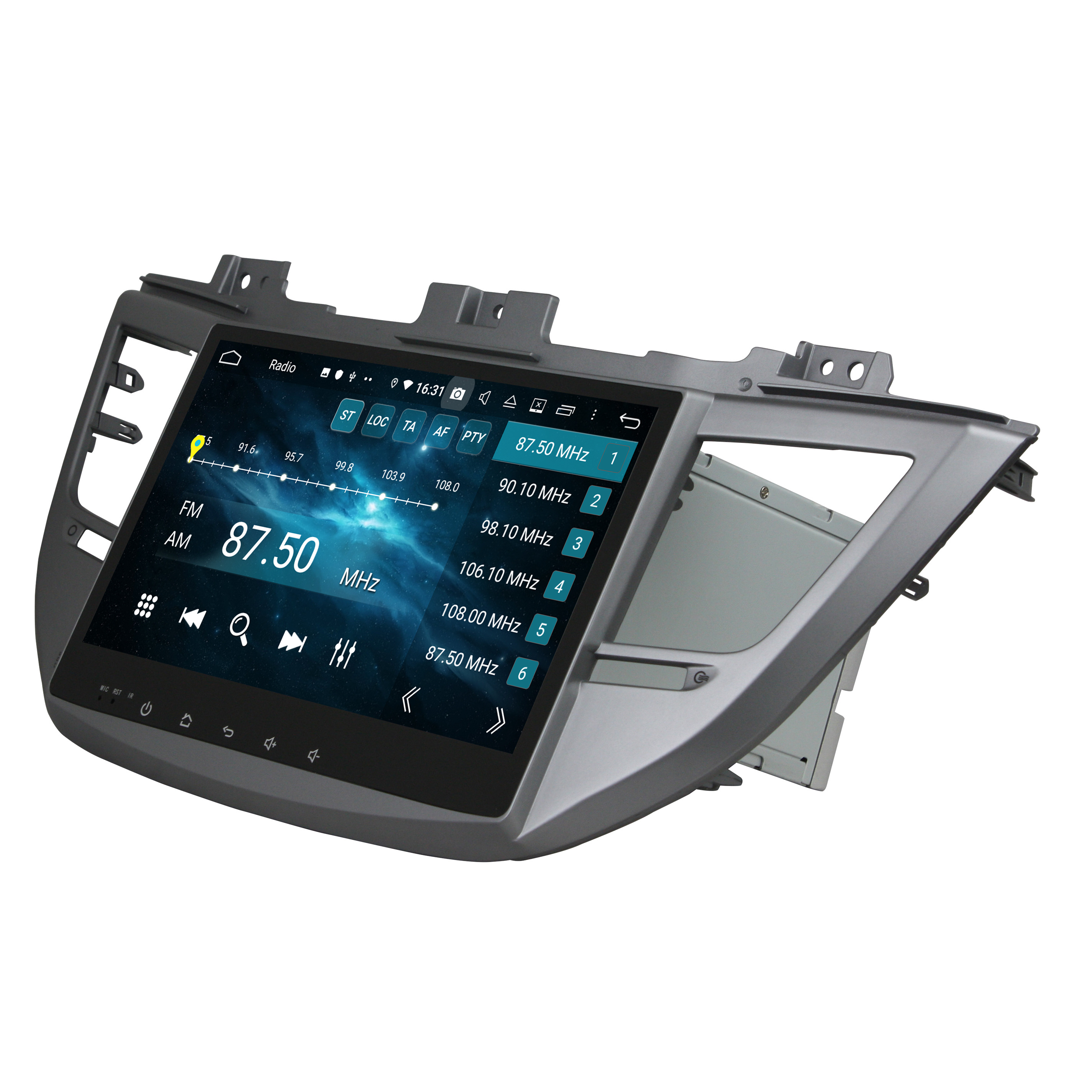 DSP 4GB RAM PX6 10.1 Android 9.0 Car Radio DVD GPS for Hyundai IX35 Tucson 2015 2016 2017 2018 Bluetooth 5.0 WIFI Easy Connect image