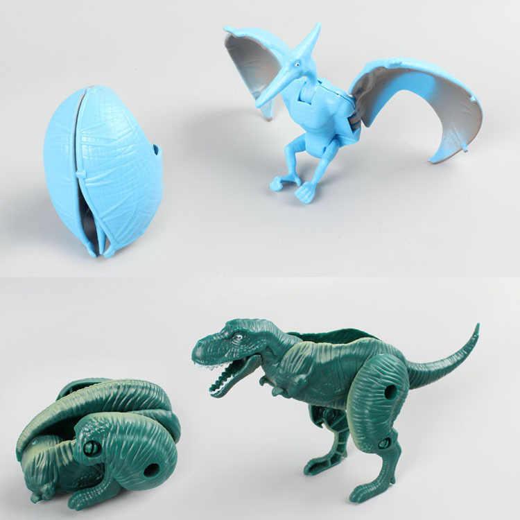 אקראי פעולה איור מיני אנימה שינוי מפלצת דינוזאור ביצי עיוות רובוט ילדים חינוכיים צעצועי מתנה לחג המולד