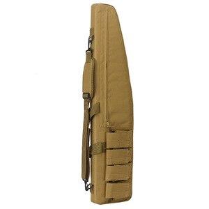 Image 2 - Jagd taschen 70 cm/100 cm/120 cm Taktische Wasserdichte Gewehr Lagerung Fall Rucksack Military Gun Tasche airsoft tasche Jagd Zubehör