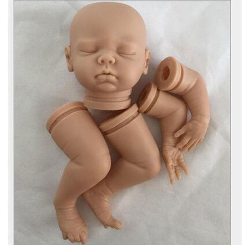 18inch Silicone Reborn Baby Dolls Kits DK-81 Handmade Reborn Baby Model Doll Accessory DIY Model Soft Vinyl Material Reborn Kits