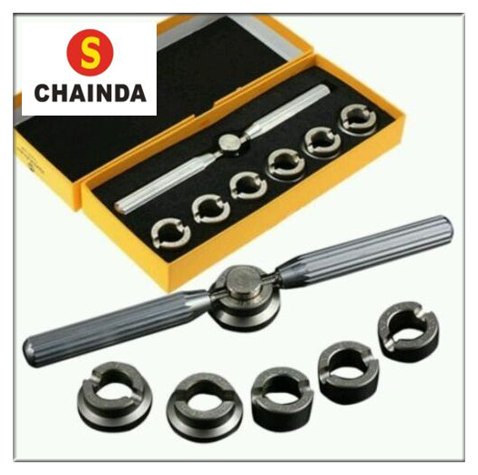 Free Shipping 1 Set Watch Tool - Oyster Style Waterproof Watch Screw Back Case Opener # 5537  free shipping watch case wrench opener set 5537 for rlx 0yster 7 chuck die 36 5mm tool watch repair tool kit