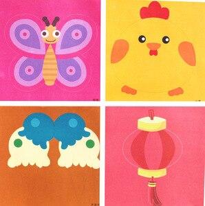 Image 4 - 96 arkuszy ręcznie robiony papier cięty książka papier typu kraft dzieci DIY Handmade książka papier do scrapbookingu zabawki dla dzieci zabawki edukacyjne WYQ