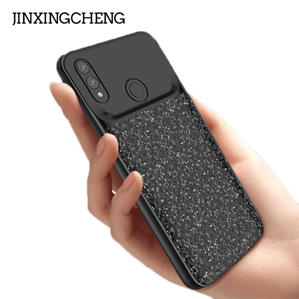JINXINGCHENG 2019 New Battery Charger Cover for Huawei Honor 8X 5000mah Back Clip Fast Silicone Case