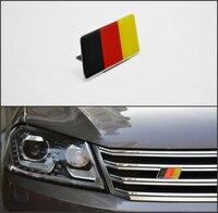 German Flag Grille Emblem Badge FIT MK6 GOLF GTI CC Jetta SCIROCCO R POLO Tiguan