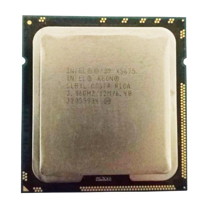 Intel Xeon Processor X5675 (12M Cache, 3.06 GHz, 6.40 GT/s Intel QPI) LGA 1366 X5675 Six Core  Server CPU