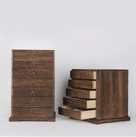 Multi layer solid wood storage box Gift Boxes Pu'er tea collection Tea Wooden box Jewelry storage boxs kit