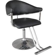 Простой парикмахерский стул парикмахерский салон специализированный парикмахерский стул для салона красоты американский стиль тренд сетка красное подъемное кресло