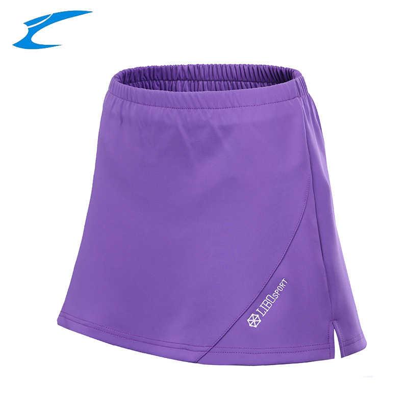 Ex palm d'or profesjonalne kobiety tenis Skorts oddychające sportowe spódnice Lady tenis szkolenia odzież jednolity siłownia tenis spodenki do badmintona