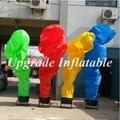 Пользовательские различные цвета огня надувные реклама танцор воздуха для продажи