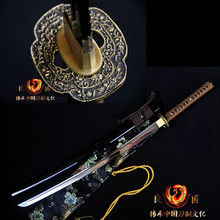 Japanese battle ready T10 clay tempered Samurai Sword Katana full tang sharpened