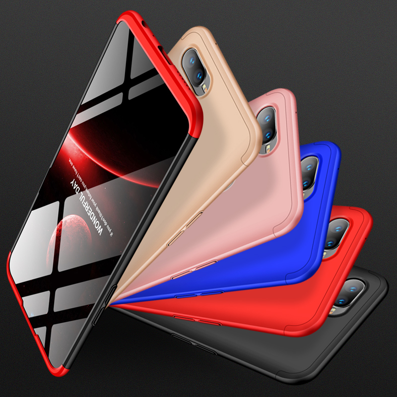 3 In 1 Phone Case For OPPO R7 R7s R9 R9s R11 Plus F1 Plus A59 F1s A57 A39 F3 A77 Cover 360 Full Protection Fundas Cover Capa