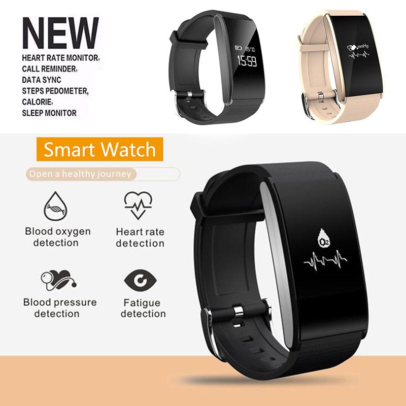 i6 plus Smart Band Sports Watch Heart Rate Monitor Blood Pressure Detection blood oxygen monitoring Bracelet